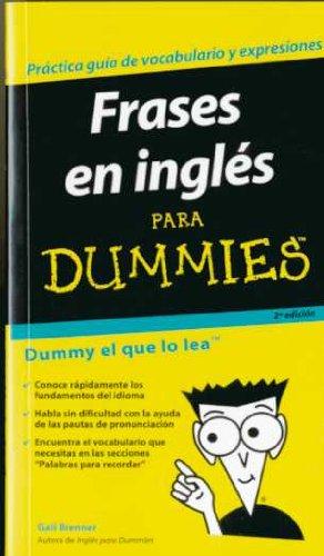9788483580509: Frases en Ingles Para Dummies