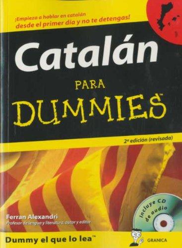 9788483580516: Catalan para dummies (+ audio-CD)