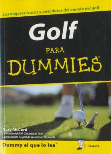 9788483580882: Golf para dummies