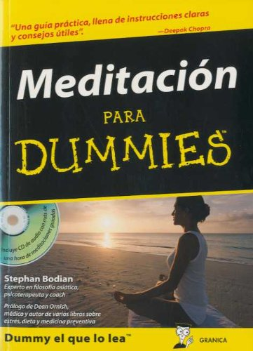 9788483580936: Meditacion para dummies (+CD)