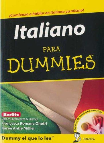9788483581254: ITALIANO PARA DUMMIES