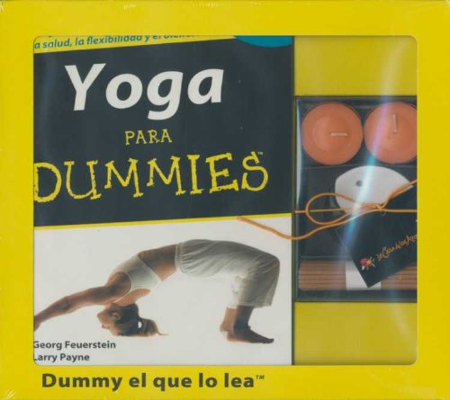 9788483581414: KIT YOGA PARA DUMMIES + INCIENSO