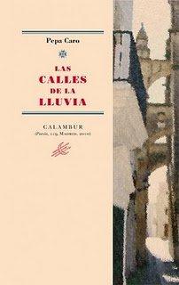 9788483592137: Las calles de la lluvia (Calambur Poesía)