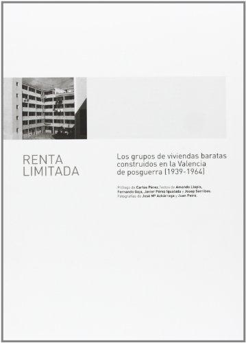 9788483632703: Renta Limitada (Fuera de colección)