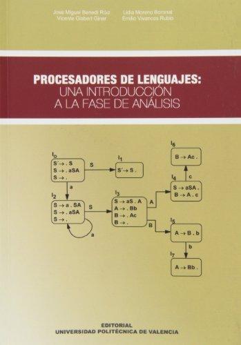 9788483633311: Procesadores de Lenguajes: Una Introducción a La Fase de Análisis (Académica)