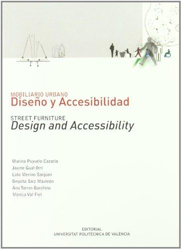 9788483633397: Mobiliario urbano : diseño y accesibilidad (Académica)