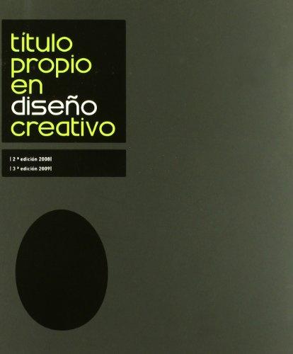 9788483634752: Título propio en diseño creativo