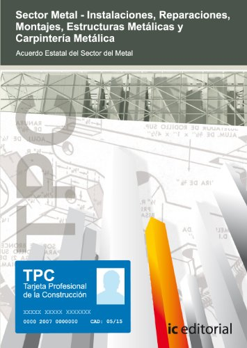 9788483642597: TPC Sector Metal - Carpintería metálica