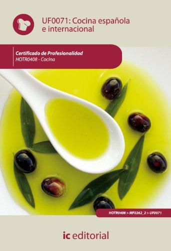 9788483645659: Cocina española e internacional. hotr0408 - cocina