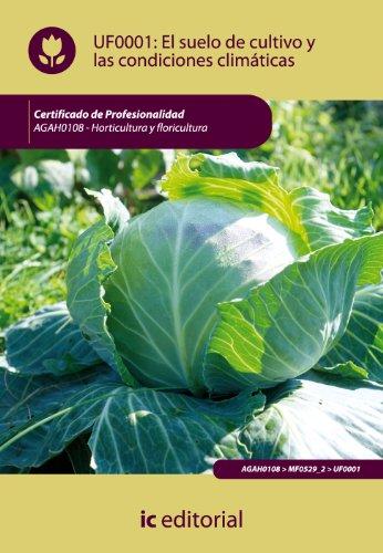 9788483645734: El suelo de cultivo y las condiciones climáticas. agah0108 - horticultura y floricultura
