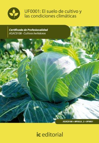 9788483645864: El suelo de cultivo y las condiciones climáticas. agac0108 - cultivos herbáceos