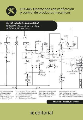 9788483646243: Operaciones de verificación y control de productos mecánicos. fmee0108 - operaciones auxiliares de fabricación mecánica