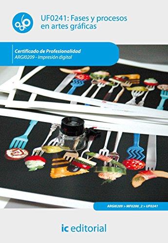 9788483648612: Fases y procesos en artes gráficas. argi0209 - impresión digital