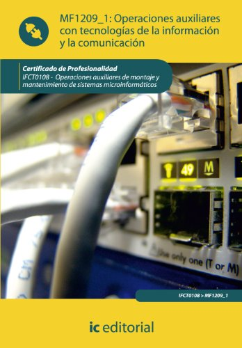 9788483648803: OPERACIONES AUXILIARES CON TECNOLOGIAS DE LA INFORMACION Y LA COMUNICA