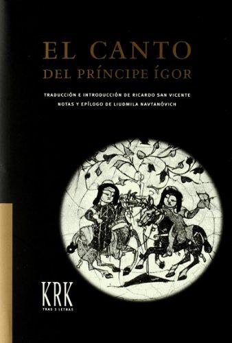 9788483670859: Canto del principe igor, el