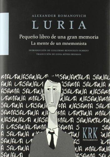 9788483671788: Pequeño Libro De Una Gran Memoria - La Mente De Un Mnemonista