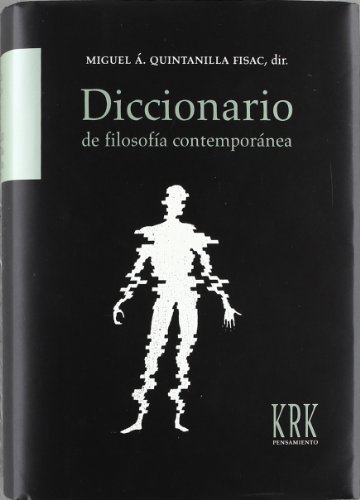 9788483672969: Diccionario de filosofía contemporánea