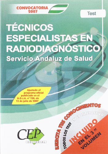 9788483687017: Test oposiciones tecnico especialistas en radiodiagnostico