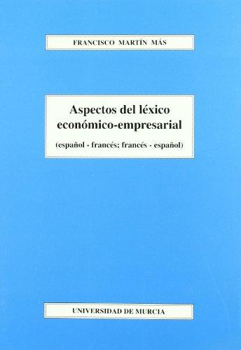9788483714089: Aspectos del léxico económico-empresarial