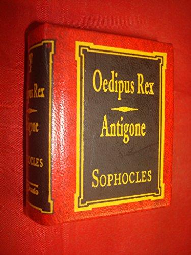 OEDIPUS REX ANTIGONE DEL PRADO MINIATURE LIBRARY BOOK CLASSICS SOPHOCLES