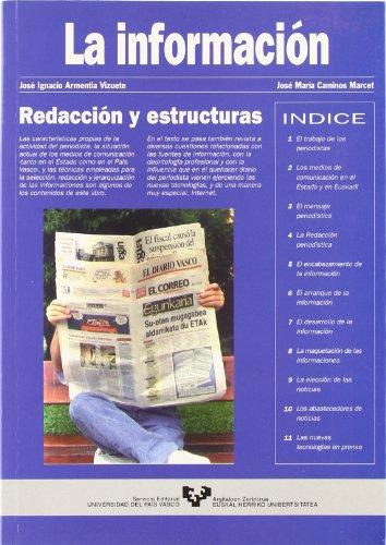 REDACCION Y ESTRUCTURAS: ARMENTIA VIZUETE, JOSE