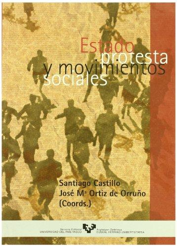 9788483731048: Estado, protesta y movimientos sociales