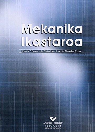 MEKANIKA IKASTAROA: BASTERO DE ELEIZALDE,