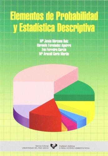 9788483735459: Elementos de probabilidad y estadística descriptiva