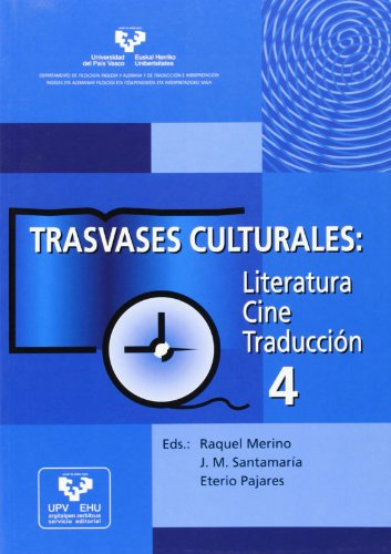 9788483737071: Trasvases culturales: literatura, cine, traducción 4