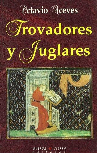 9788483740248: Trovadores y juglares (Poesía)