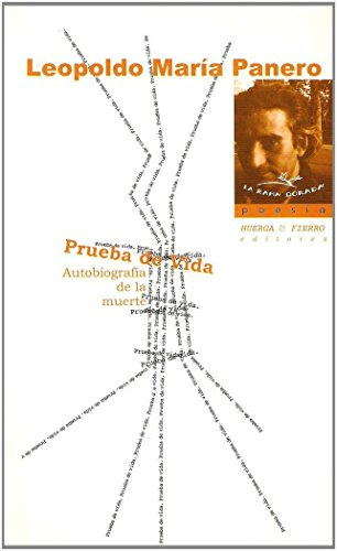 9788483743232: Prueba de vida: Autobiografía de la muerte (La rama dorada - Poesía)