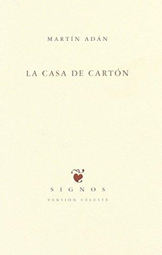9788483745779: CASA DE CARTON, LA (Signos - version celeste)