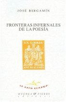 9788483747384: Fronteras infernales de la poesía (LA RAMA DORADA - ENSAYO)