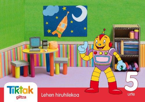 9788483781227: Tik-Tak Lehen Hiruhilekoa 5 Urte - 9788483781227