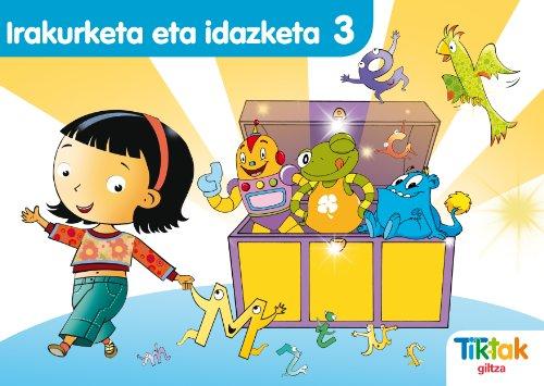 9788483781333: Irakurketa-Idazketa 3 Montessori Pauta - 9788483781333