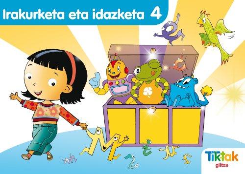 9788483781340: Irakurketa-Idazketa 4 Montessori Pauta - 9788483781340