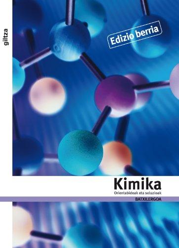 9788483781579: Orientabideak Eta Lanerako Proposamenak. Kimika II