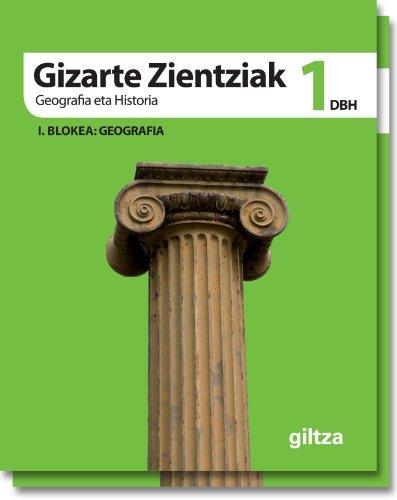 9788483782255: GIZARTE ZIENTZIAK, GEOGRAFIA ETA HISTORIA DBH 1