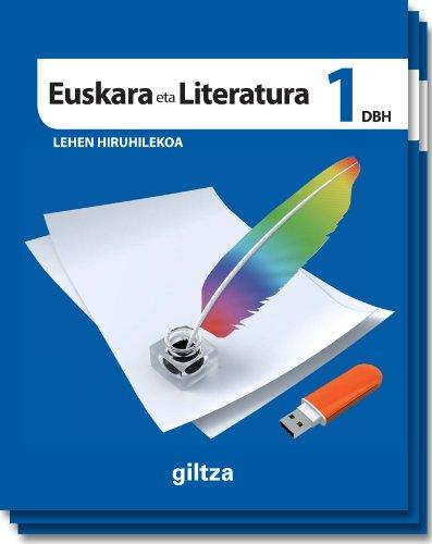 9788483782279: EUSKARA ETA LITERATURA DBH 1 - 9788483782279