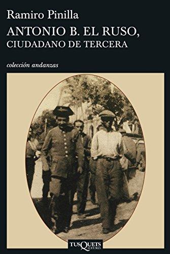 9788483830185: ANTONIO B (Andanzas/ Adventures) (Spanish Edition)