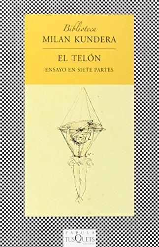 9788483830949: Telon, El (Biblioteca Milan Kundera En Fabula) (Spanish Edition)