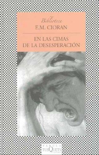 9788483831410: En las cimas de la desesperacion (Biblioteca en Fabula) (Spanish Edition)