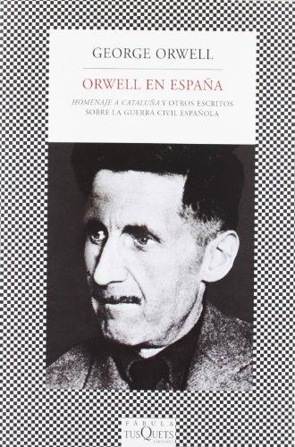 9788483831496: Orwell en España: Homenaje a Cataluña y otros escritos sobre la guerra civil española (FÁBULA)