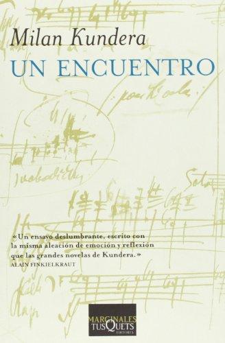 9788483831571: Un encuentro (Marginales/ Marginals) (Spanish Edition)