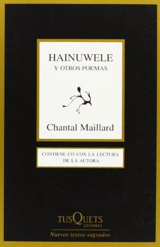 9788483831847: Hainuwele y otros poemas (Marginales)