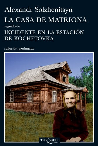 9788483833353: La casa de Matriona (Spanish Edition)