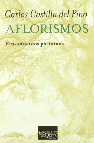 9788483833513: Aflorismos