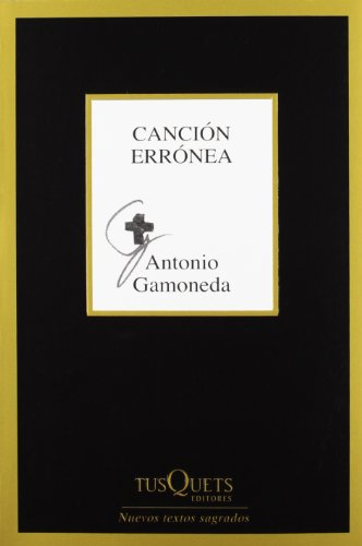 9788483834374: Cancion erronea (Spanish Edition)