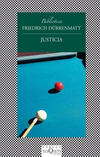 9788483834725: Justicia (Fabula (tusquets))