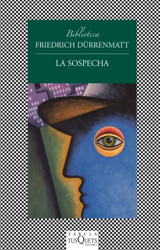 9788483834992: La sospecha (Fabula (tusquets))